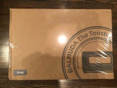 """BALMUDA Steam toaster oven""""BALMUDA The Toaster"""" K01E-GW (Gray)"""