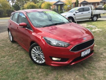 2017 Ford Focus Red Manual Hatchback Traralgon Latrobe Valley Preview