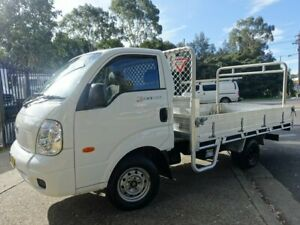 2010 Kia K2900 PU3 MY10 White 5 Speed Manual Cab Chassis Homebush West Strathfield Area Preview