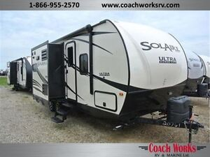 Well Built Short Trailer w/bunks Solaire is known for quality