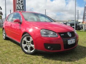2008 Volkswagen Golf V GTi Red Direct Shift Hatchback Wangara Wanneroo Area Preview