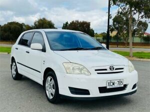 2004 Toyota Corolla ZZE122R Ascent White 4 Speed Automatic Hatchback Mawson Lakes Salisbury Area Preview