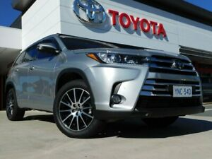 2018 Toyota Kluger GSU55R Grande AWD Silver 8 Speed Sports Automatic Wagon Greenway Tuggeranong Preview