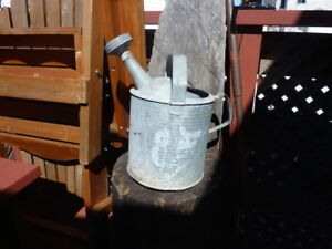 Vintage Steel Watering Can.....Timmins Area Delivery