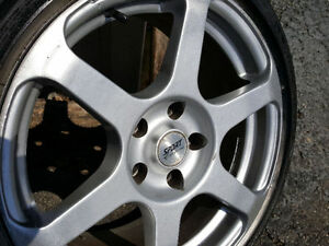 "full set of 17"" rims for sale only $325"