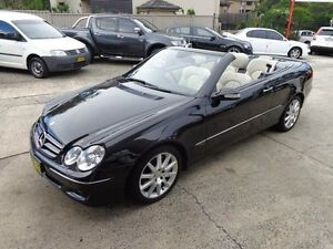 2006 Mercedes-Benz CLK500 C209 MY07 Avantgarde Black 7 Speed Automatic G-Tronic Cabriolet Sylvania Sutherland Area Preview