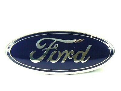 FORD TRANSIT FRONT GRILLE BLUE OVAL BADGE BONNET EMBLEM 9