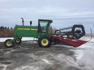 John Deere 4895 25 ft Swather