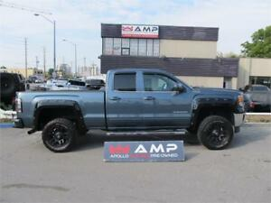 2014 GMC Sierra 4X4 WOW! Rims upgrade lift! FLARES AND NAVIGATIO