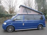 2006 VW T5 PROFESSIONAL POP TOP CAMPERVAN CONVERSION FOR SALE