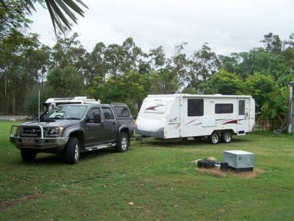 Holden Colorado & Jayco Stirling package Yeppoon Yeppoon Area Preview