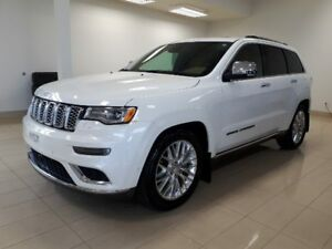 2018 Jeep Grand Cherokee SUMMIT int. brun Sienna, 4X4, V8 CUIR,