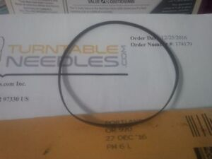 Brand New Flat Drive Belt, Small 9.6 Inch for Deck Turntable