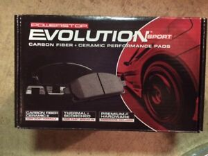 Power Stop Evolution Sport Subaru brake pads