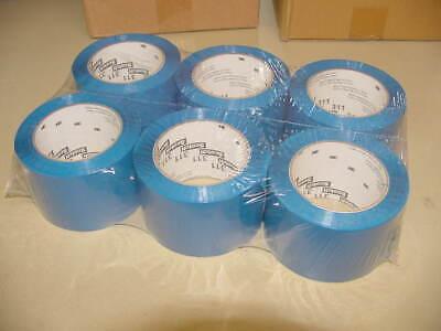 6 Rolls 3m Scotch 311 Blue Box Sealing Packaging Tape 2.83 In X 109 Yd 3x110 New