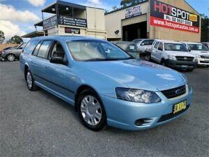 2009 Ford Falcon BF Mk III XT Blue Sports Automatic Wagon Greystanes Parramatta Area Preview