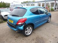PEUGEOT 207 - EJ11ZSU - DIRECT FROM INS CO
