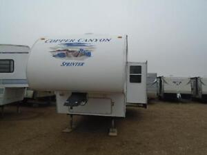 2007 COPPER CANYON 252 FIFTH WHEEL