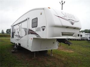 2007 Sabre 30RES Luxury 5th wheel trailer with power slideout