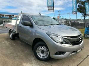 2016 Mazda BT-50 UR0YD1 XT Silver Manual Cab Chassis Mulgrave Hawkesbury Area Preview