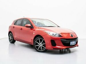 2012 Mazda 3 BL 11 Upgrade Neo Red 6 Speed Manual Hatchback