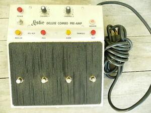 LESLIE Pre-amp/Foot Controller