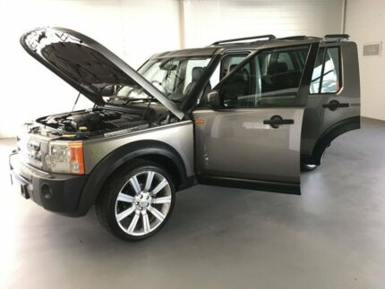 2007 Land Rover Discovery 3 Series 3 08MY SE Grey 6 Speed Sports Automatic Wagon