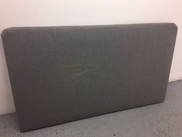 Headboard bedin West End, LondonGumtree - Headboard bed with 160cm x 93cm the fabric looks in good quality but have a mark in the middle dont know if will come out so the price im ask is just for the frame. Collection only. located w1g 9hf