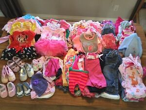 Assorted girl's clothes 12-18 months