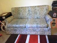 Two Seated Double Sofa-Bed *collection only*