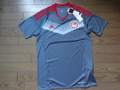 Olympiakos 100% Original Soccer Jersey Shirt S 2016/17 Still BNWT Greece image