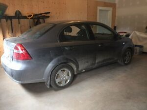 2008 Pontiac G3 Wave Sedan as is