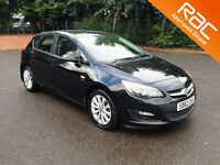 2012.62.VAUXHALL ASTRA.1.7 CDTI ACTIVE.FIVE DOOR.BLACK