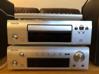 Denon HiFi AM/FM DAB Stero receiver and CD Player