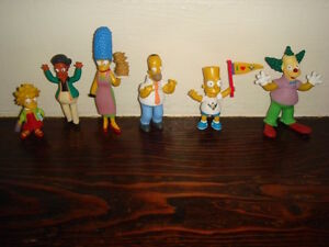 20th Anniversary Simpsons figures 6 pack MIB