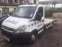 IVECO DAILY 35S11 MWB (white and blue) 2011