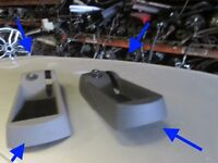 Audi A2 handbrake tray GENUINE soul Black or Light grey excellent condition