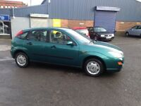 NOW £595 FORD FOCUS GHIA ZETEC - 5 DOOR - RELIABLE SOLID CHEAP CAR