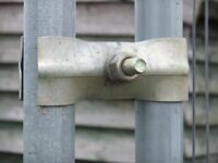 Heras Fence Panels X 9 Inc Feet And Clips