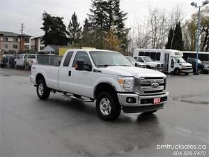 2012 FORD F-250 SUPER DUTY EXT CAB LONG BOX 4X4