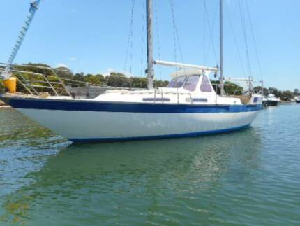 Manitou 32 ketch nice yacht all fiberglass production yacht