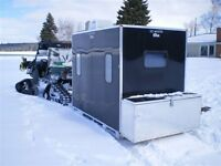 Pre-order your All Aluminum Ice Shanty - Hunting Blind