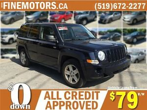 2010 JEEP PATRIOT SPORT * 4X4 * POWER ROOF * NORTH EDITION