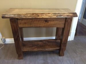 ONE OF A KIND HALL TABLE....GORGEOUS!!!