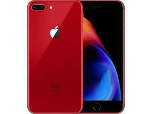 iPhone 8 Plus,  Red, Unlocked, Week Old, New Condition.