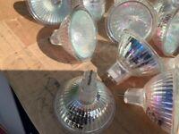 Halogen 2 pin spotlight bulbs