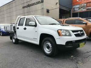 2010 Holden Colorado RC MY10 LX (4x2) White 5 Speed Manual Crew Cab Pickup