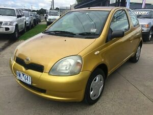 2002 Toyota Echo NCP10R NCP10R 5 Speed Manual Hatchback Brooklyn Brimbank Area Preview