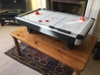 Air Hockey table - table top size, electric and great fun!