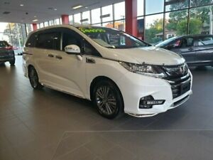 2018 Honda Odyssey RC MY18 VTi-L White 7 Speed Constant Variable Wagon Hornsby Hornsby Area Preview